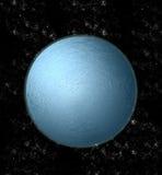 Blauw astronomisch lichaam royalty-vrije illustratie