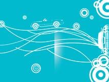 Blauw autopatroon Royalty-vrije Stock Afbeelding