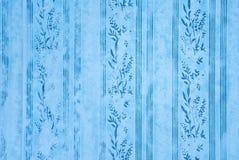 Blauw behang Royalty-vrije Stock Foto's
