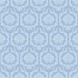 Blauw behangpatroon Royalty-vrije Stock Fotografie