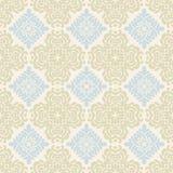 Blauw behangpatroon Royalty-vrije Stock Foto
