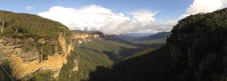 Blauw Bergen Nationaal Park, NSW, Australië Stock Foto's