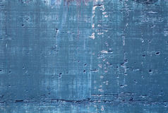 Blauw beton Royalty-vrije Stock Foto's