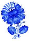 Blauw, bloem Stock Afbeelding