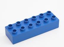Blauw blok Royalty-vrije Stock Fotografie