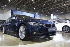 Blauw BMW 420i Royalty-vrije Stock Foto's