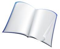 Blauw boek Stock Afbeelding