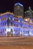 Blauw Brisbane van de toeristenplaats portret 1 Stock Foto's