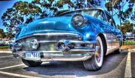 Blauw Buick Stock Fotografie