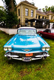 Blauw Cadillac Royalty-vrije Stock Fotografie