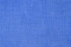 Blauw canvas Royalty-vrije Stock Foto's