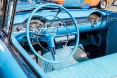 Blauw 1955 Chevrolet Bel Air Royalty-vrije Stock Foto's