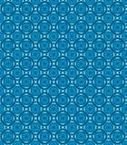 Blauw cirkel abstract cijferpatroon Royalty-vrije Stock Afbeeldingen