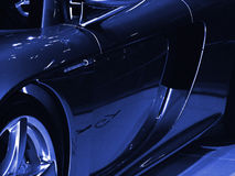 Blauw concept Stock Foto