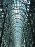 Blauw dakraam in Toronto Stock Afbeelding