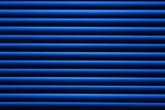 Blauw de blindenvenster van de metaaltextuur abstracte achtergrond royalty-vrije illustratie