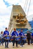 Blauw de Vlaamse gaaienspel van Rogers Centre @ Royalty-vrije Stock Foto