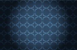 Blauw decoratief behang royalty-vrije illustratie