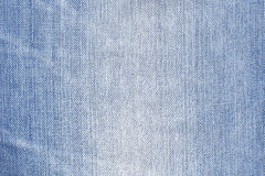 Blauw denim Stock Foto