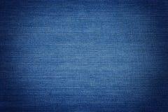 Blauw Denim Royalty-vrije Stock Afbeeldingen