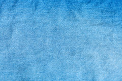 Blauw denim Jean - textielachtergrond Royalty-vrije Stock Fotografie