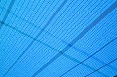 Blauw die netto textuur in de schaduw stellen stock foto's