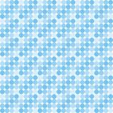 Blauw discopatroon Royalty-vrije Illustratie