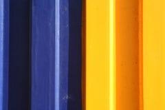 Blauw en geel Stock Afbeeldingen