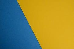Blauw en geel Royalty-vrije Stock Foto