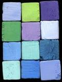 Blauw en Groen royalty-vrije stock foto