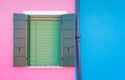 Blauw en roze stock afbeeldingen