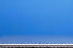 Blauw en staal Royalty-vrije Stock Foto's