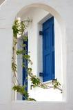 Blauw en Wit Royalty-vrije Stock Foto's