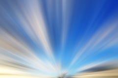 Blauw en wit achtergrond abstract motieonduidelijk beeld Stock Foto's