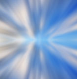 Blauw en wit achtergrond abstract motieonduidelijk beeld Royalty-vrije Stock Afbeeldingen