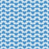 Blauw en wit Grieks sier vectorpatroon Stock Illustratie