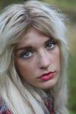 Blauw Eyed Meisje Royalty-vrije Stock Afbeeldingen