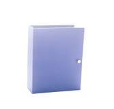 Blauw fotoalbum Royalty-vrije Stock Afbeeldingen