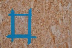 Blauw frame Royalty-vrije Stock Foto's