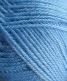 Blauw garen Royalty-vrije Stock Foto
