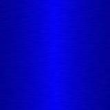 Blauw Geborsteld Metaal Stock Foto