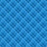 Blauw geometrisch behang Stock Foto