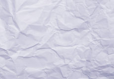 Blauw gerimpeld document stock afbeelding