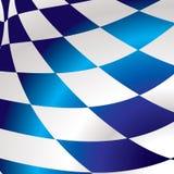 Blauw geruit vierkant Royalty-vrije Stock Fotografie