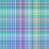 Blauw geruite Schotse wollen stofpatroon royalty-vrije illustratie