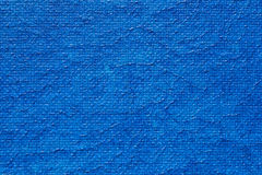 Blauw Geschilderd Canvas Royalty-vrije Stock Fotografie