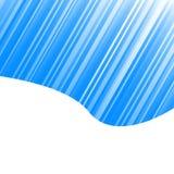 Blauw gestreept ontwerp stock illustratie