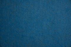 Blauw gevoelde textuur stock foto