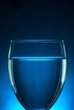 Blauw Glas royalty-vrije stock foto's