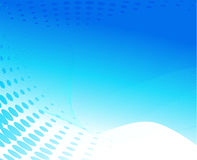 Blauw golfontwerp Stock Afbeeldingen